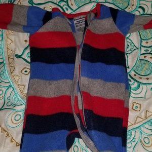 Garanimals fleece newborn onesie boy or girl